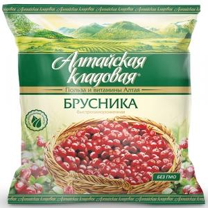 """Брусника """"Алтайская кладовая"""" 300гр."""