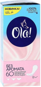 """Ежедневные прокладки """"Ola Light"""" стринг. 60шт."""