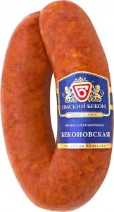 """Колбаса """"Беконовская""""  п/к (Омский бекон) 300 гр."""