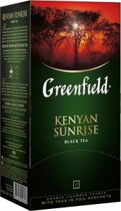 """Чай """"Greenfield"""" Кениан Санрайз чёрный в пакетиках 25 шт"""