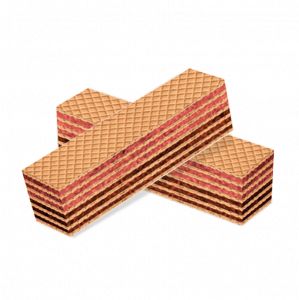 """Вафли клубнично-шоколадные """"Муля красотуля"""" 500 гр.вес."""