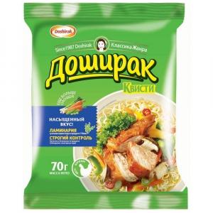 """Лапша """"Доширак квисти"""" быстрого приготовления со вкусом курицы 70 г"""