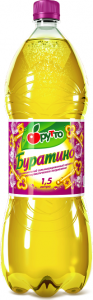 """Безалкогольный напиток """"Фрутто"""" буратино (ПЭТ 1,5 л)"""