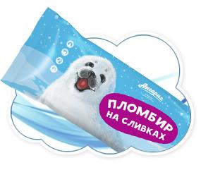 Пломбир на сливках эскимо 80гр (Ангария)