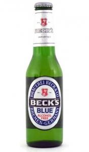 """Пиво """"Бекс Блю""""  б/а 0,33 ст/б"""
