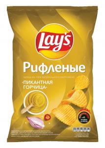"""Чипсы """"Лейс"""" пикантная горчица 150 гр"""