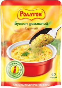 """Бульон """"Роллтон"""" домашний куриный 100 г"""