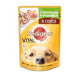 """Корм для собак всех пород """"Педигри"""" в ассортименте 85 гр."""