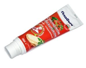 """Плавленый сыр """"Плавыч"""" с томатом и базиликом (Туба) 150 гр."""