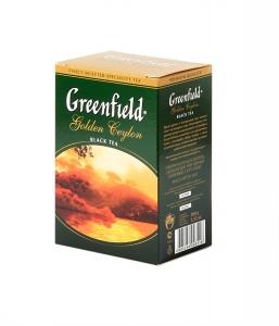 """Чай """"Greenfield"""" Golden Ceilon лист.чёрный 100г"""