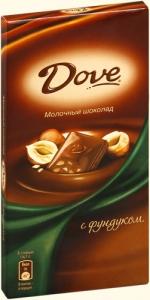 """Dove """"Молочный шоколад"""" в ассортименте 90 гр."""