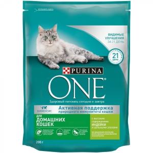"""Корм сухой """"Pyrina One"""" для домашних кошек 200 гр."""