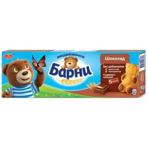 """Бисквит """"Медвежонок Барни"""" 30 гр* 5 шт"""