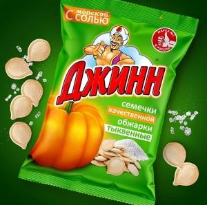 """Семечки тыквенные """"Джинн"""" 100гр"""