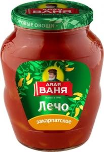 """Лечо """"Закарпатское"""" ст/б (Дядя Ваня) 680 гр."""