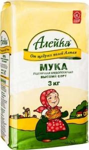 "Мука ""Алейка"" 3 кг"
