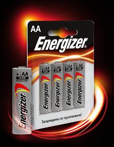 Батарейка щелочная Energizer AA 1 шт