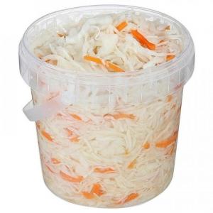 Капуста квашенная с морковью 900 гр.