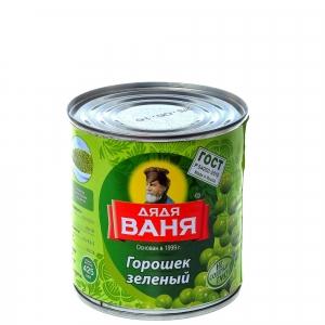 "Горошек зеленый ""Дядя Ваня"" ж/б 400 гр."