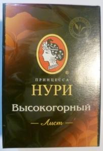 """Чай """"Принцесса Нури"""" Высокогорный чёрный листовой 100 г"""