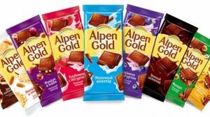 """Шоколад """"Альпен Гольд"""" в ассортименте 85 гр."""