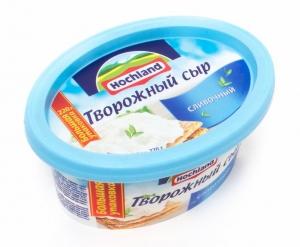 Сыр плавленый Хохланд (ванночка) творожный сливочный 220 гр.