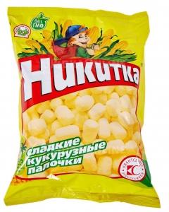 Сладкие кукурузные палочки Никитка 160 г.