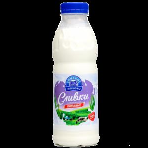 "Сливки ""Томское молоко"" 20% п/б 480 гр."
