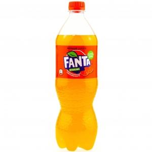"""Газированный напиток """"Фанта"""" апельсин 0,9 л."""