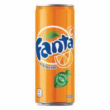 """Газированный напиток """"Фанта"""" апельсин ж/б 0,33 л."""