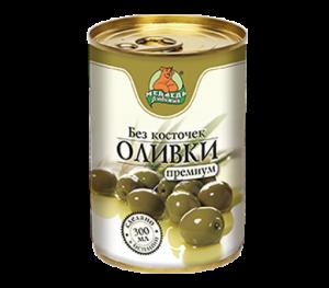 "Оливки ""Медведь Любимый""  300 мл"
