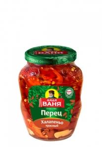 """Перец острый Халапеньо красный """"Дядя Ваня"""" 350 гр."""