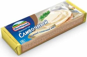 """Плавленый сыр """"Hochland"""" (блочки) сливочный 100гр."""