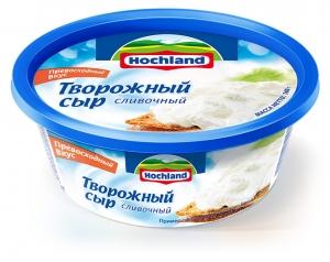 Сыр плавленый Хохланд (ванночка) творожный сливочный  140 гр