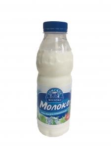 "Молоко ""Томское молоко"" паст. питьевое 2,5% бут. 500 гр."