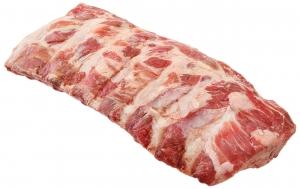 Ребра свинины вес.