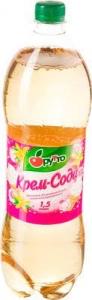 """Безалкогольный напиток """"Фрутто"""" крем-сода (ПЭТ 2,0 л)"""