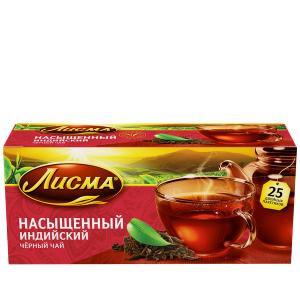 """Чай """"Лисма"""" насыщенный черный 25* 1,8 гр."""