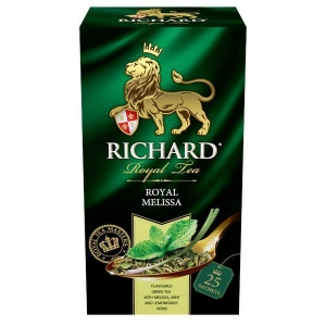"Чай ""Richard"" Мелисса зел. в пакетиках 25*2г"