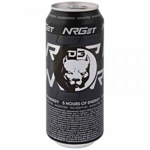"Напиток б/а тонизирующий энергетический ""Энергет"" (NRGet Fresh) ж/б 0,5 л."