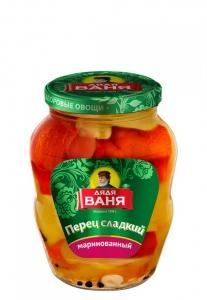 "Перец маринованный, сладкий, резаный ""Дядя Ваня"" 680 гр"