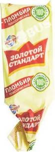 """Мороженое """"Золотой Стандарт"""" пломбир в пергаменте  70 г"""