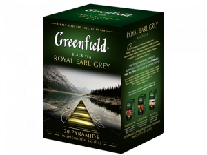 Чай Greenfield Royal Earl Grey черный пирамидки 20 шт.
