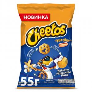 "Чипсы ""ЧИТОС""  со вкусом хот-дог 55 гр."