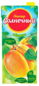 "Сок ""Нектар Солнечный"" абрикос 0,95 л."