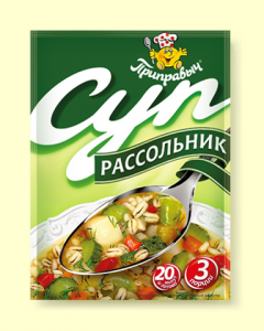 """Суп Рассольник """"Приправыч """" 60гр"""