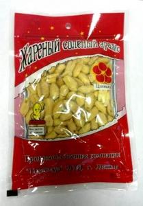 Жареный солёный арахис Jinhua Food в вакуумной упаковке, 90гр