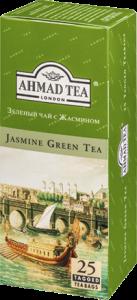 "Чай ""Ахмад"" зеленый с жасмином 25п."