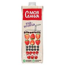 """Сок """"Моя Семья"""" ягода 0,95 л."""