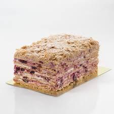 """Пирожное """"Наполеон""""со смородиной вес."""